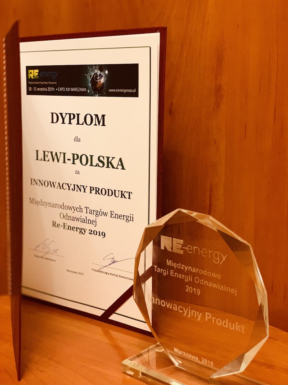 nagroda innowacyjny produkt targow re-energy