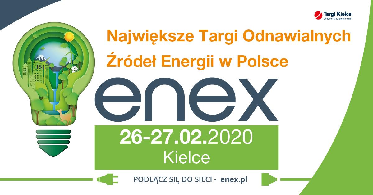 Enex targi 2020 odnawialna energia