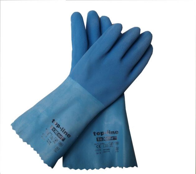 Odporne rękawice nytrylowe