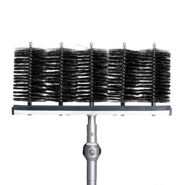 Uchwyt z główkami do mycia aluminiowy
