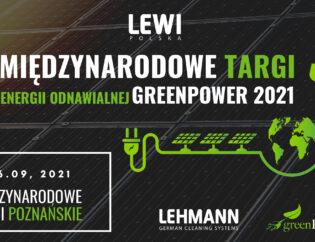 Międzynarodowe Targi energii odnawialnej GREENPOWER - Lewi Polska.